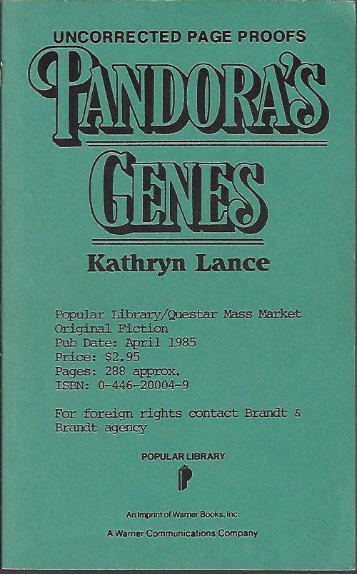 Image for PANDORA'S GENES