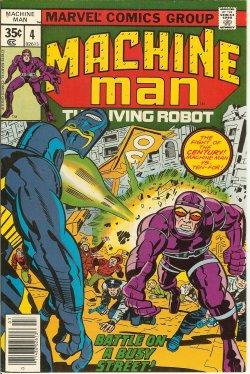 MACHINE MAN - Machine Man the Living Robot: July #4