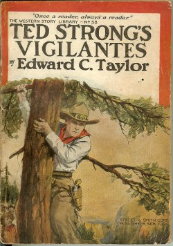 TED STRONG'S VIGILANTES; Western Story Library N