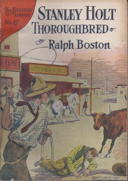 STANLY HOLT THOROUGHBRED; Around World Library N