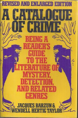 A CATALOGUE CRIME Revised and Enlarged Edition; 