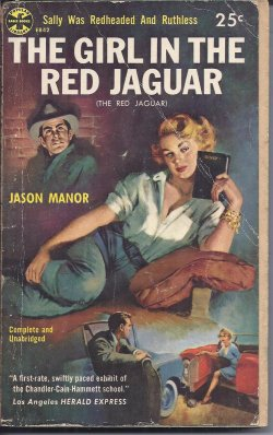 MANOR, JASON - The Girl in the Red Jaguar