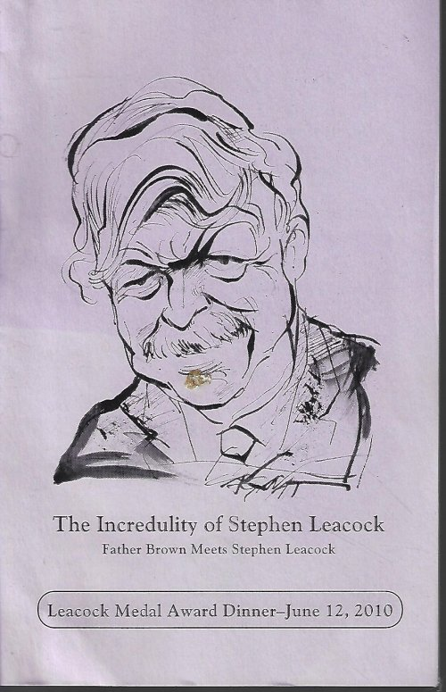 THE INCREDULITY OF STEPHEN LEACOCK; FATHER BROWN MEETS STEPHEN LEACOCK