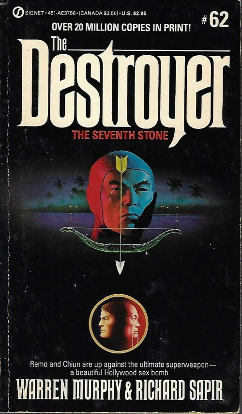 THE SEVENTH STONE: The Destroyer No. 62