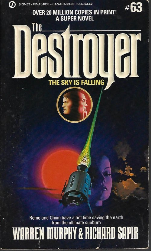 THE SKY IS FALLING: The Destroyer No. 63