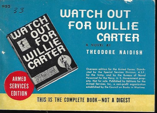 Image for WATCH OUT FOR WILLIE CARTER