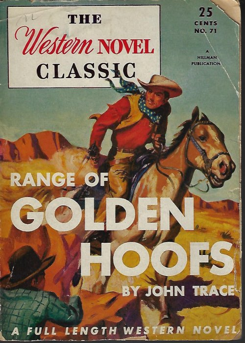 Image for RANGE OF GOLDEN HOOFS: The Western Novel Classic #71