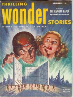 THRILLING WONDER Stories December, Dec 1952 What