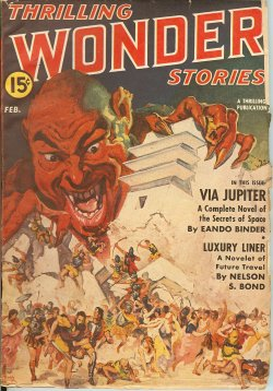 THRILLING WONDER Stories February, Feb 1942
