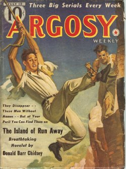 ARGOSY Weekly July 13, 1940 Harp and Blade; Dead