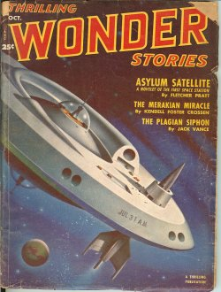 THRILLING WONDER Stories October, Oct 1951