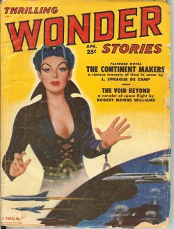 THRILLING WONDER Stories April, Apr 1951 Contine
