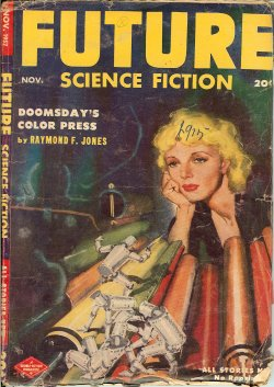 FUTURE Science Fiction: November, Nov. 1952
