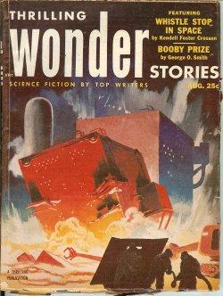 THRILLING WONDER Stories August, Aug 1953