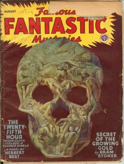 FAMOUS FANTASTIC MYSTERIES August, Aug 1946 Twen