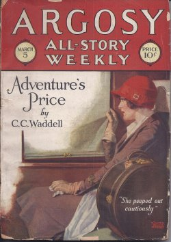 Image for ARGOSY ALL-STORY Weekly: March, Mar. 5, 1927