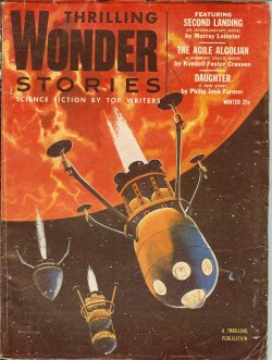 THRILLING WONDER STORIES Winter 1954