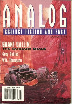 ANALOG Science Fiction Science Fact October, Oct