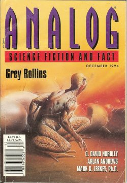 ANALOG Science Fiction and Fact December, Dec 19