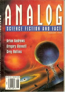 ANALOG Science Fiction Science Fact August, Aug