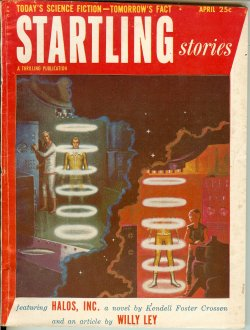 STARTLING Stories April, Apr 1953