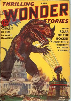 THRILLING WONDER Stories April, Apr 1940