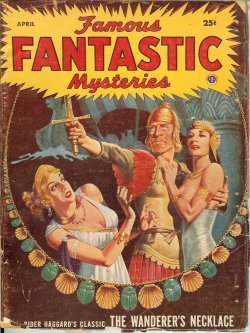 FAMOUS FANTASTIC MYSTERIES April, Apr 1953 Wande