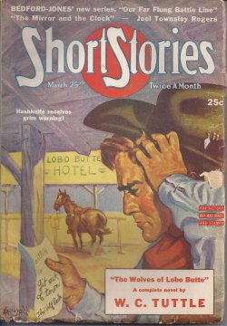 SHORT STORIES March, Mar 25, 1943
