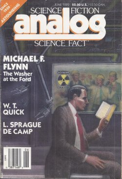 ANALOG Science Fiction Science Fact June 1989