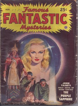 FAMOUS FANTASTIC MYSTERIES August, Aug 1948 Purp