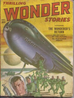 THRILLING WONDER Stories December, Dec 1951 Wand