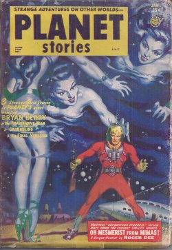 PLANET Stories January, Jan 1953