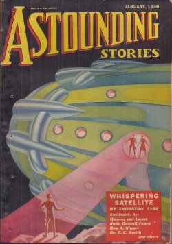 ASTOUNDING Stories January, Jan 1938 Galactic Pa