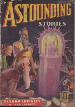 ASTOUNDING Stories January, Jan 1937