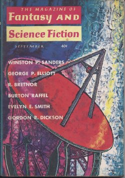 Image for The Magazine of FANTASY AND SCIENCE FICTION (F&SF): September, Sept. 1960