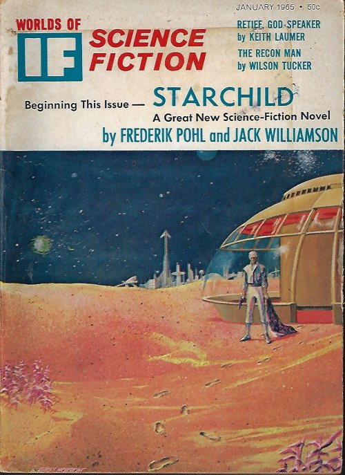 "Image for IF Worlds of Science Fiction: January, Jan. 1965 (""Starchild"")"