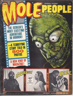 Image for THE MOLE PEOPLE, Universal Pictures Presents