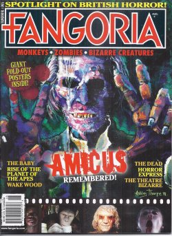 Image for FANGORIA #305, August, Aug. 2011 (Rise of the Planet of the Apes; the Dead; Saint; Wake Wood; Penny Dreadfuls)