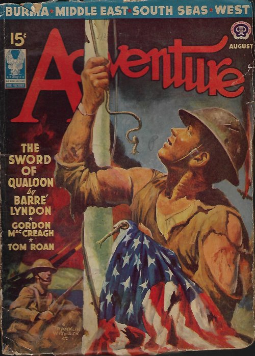Image for ADVENTURE: August, Aug. 1942