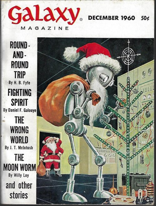 Image for GALAXY Science Fiction: December, Dec. 1960