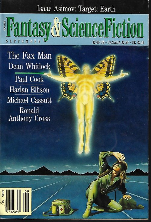 Image for The Magazine of FANTASY AND SCIENCE FICTION (F&SF): September, Sept. 1990
