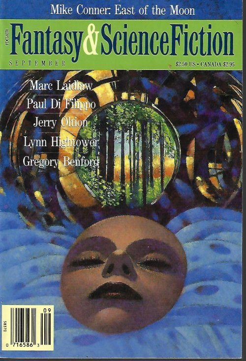 The Magazine of FANTASY AND SCIENCE FICTION (F&SF): March, Mar. 1993
