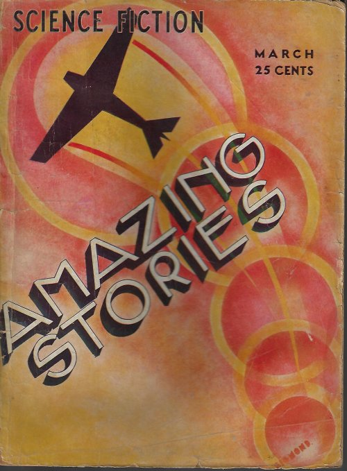 AMAZING Stories: March, Mar. 1933