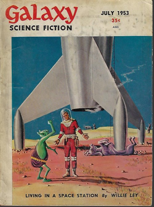 GALAXY Science Fiction: July 1953