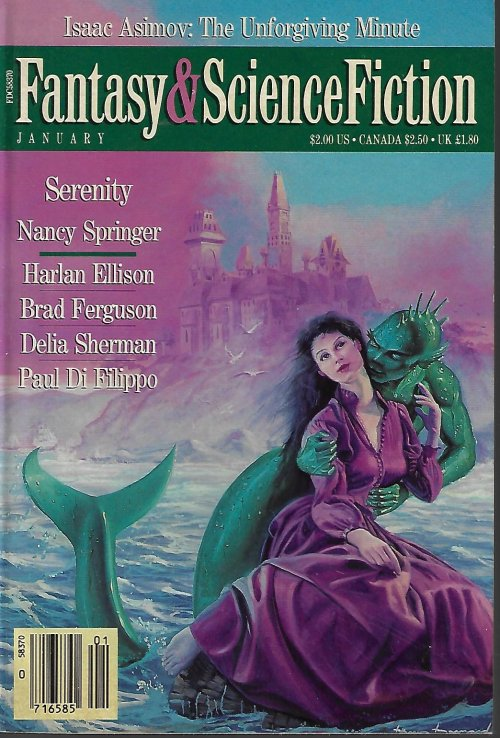 The Magazine of FANTASY AND SCIENCE FICTION (F&SF): January, Jan. 1989