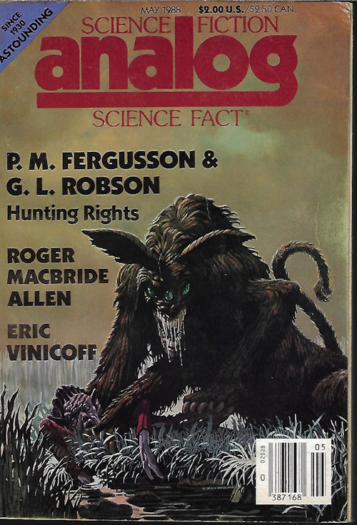 Image for ANALOG Science Fiction/ Science Fact: May 1988