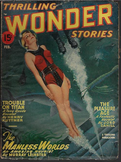 Image for THRILLING WONDER Stories: February, Feb. 1947