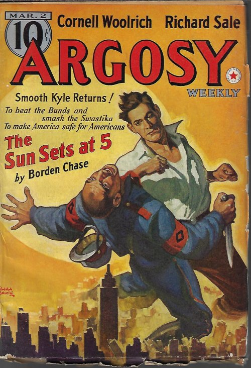 """Image for ARGOSY Weekly: March, Mar. 2, 1940 (""""The Green Flame"""")"""