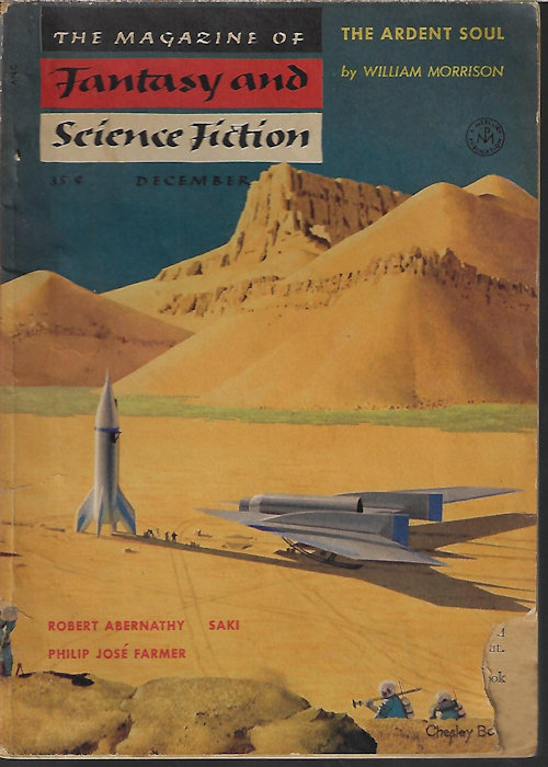 Image for The Magazine of FANTASY AND SCIENCE FICTION (F&SF): December, Dec. 1954
