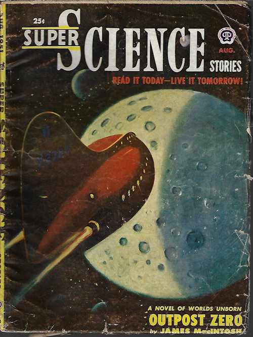 Image for SUPER SCIENCE Stories: August, Aug. 1951